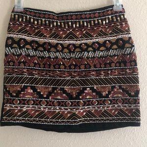 H&M size 6 beaded skirt
